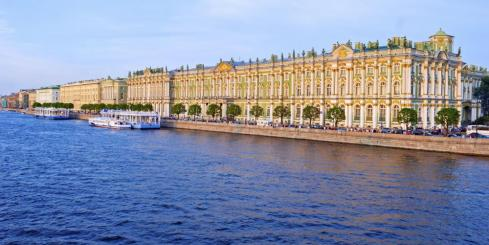 St. Petersburg's Hermitage, the former home of the Russian imperial family