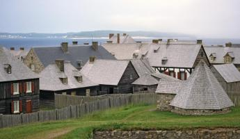 The small historic village of Louisbourg