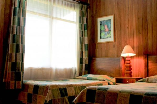 Your comfortable room at Cloud Forest Lodge