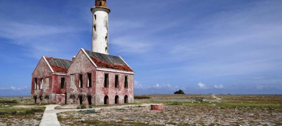 An old lighthouse on Curacao