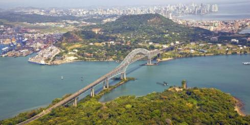 Panama City's Bridge of the Americas