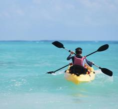 Kayak the clear blue waters of Belize