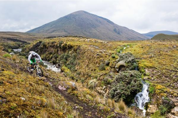 Bike around the moors surrounding Cotopaxi