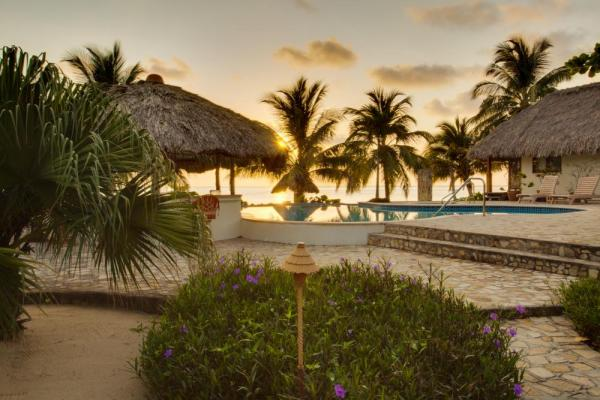 Relax at the luxurious Almond Beach Resort & Spa