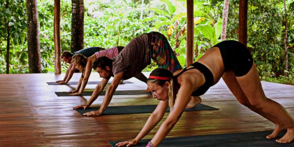 Rejuvinate your mind and soul with yoga at Yemaya Island Getaway
