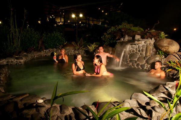 Soak in the springs at Arenal Springs Resort and Spa