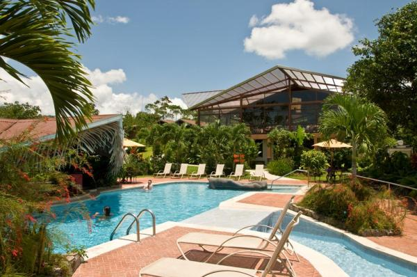 The pool at Arenal Springs Resort and Spa