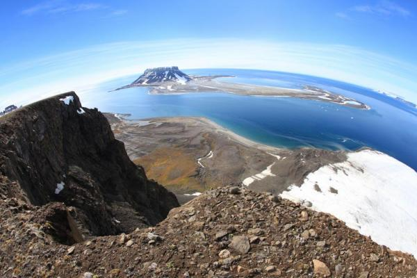 Some Arctic view may make you feel like you are standing on top of the world!