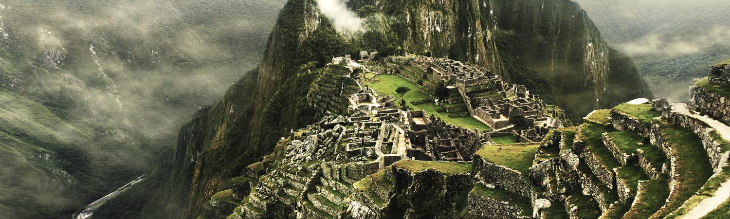 The mysterious lost city of Machu Picchu