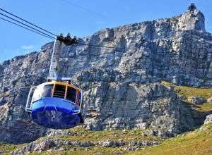 Take the cable car during one of your days in Cape Town