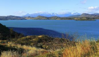 The stunning beauty of Pehoe Lake, Torres del Paine