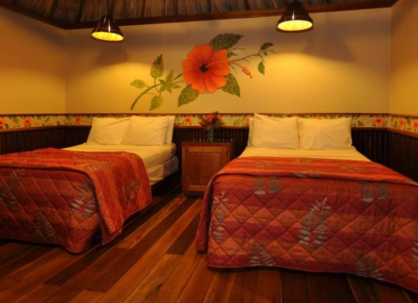 Twin beds at Ramon's Village