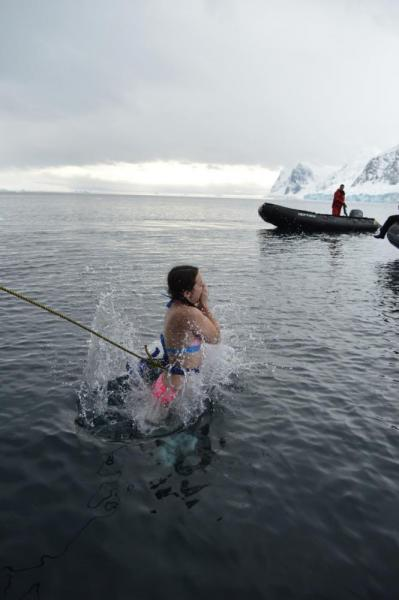 Polar Plunge: Into the icy abyss