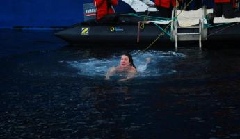 Polar Plunge: Swimming for the other zodiac!