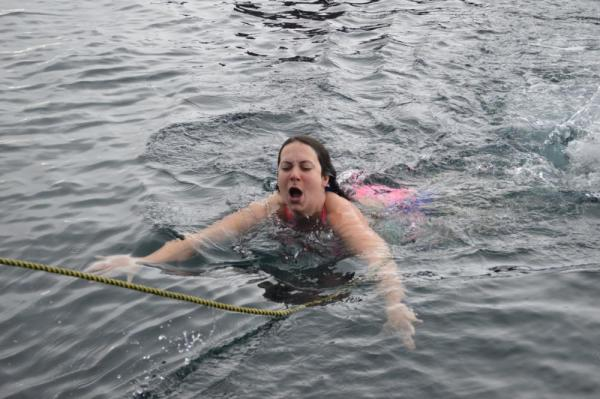 Polar Plunge: So close!