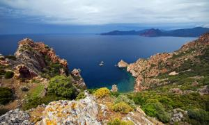 Sail around the crystal waters of Corsica