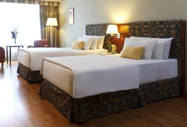 The NH Latino offers spacious, comfortable suites