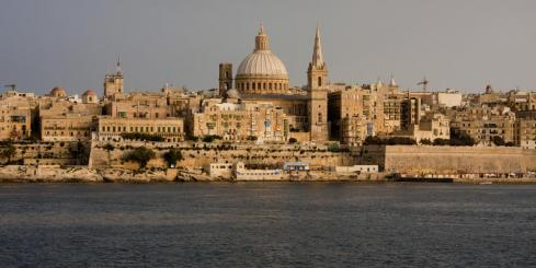 The impressive city of Valletta, Malta