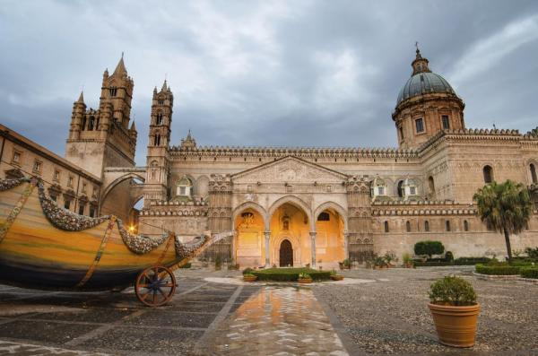 Visit the Cathedral of Palmero on your small ship cruise around Sicily