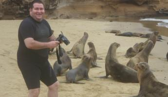 Fabio and the sea lions.. again