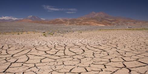 The cracked terrain of Atacama