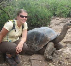 Me and a tortoise, i made a friend