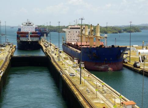Gatun Lock of the Panama Canal
