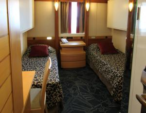 Exterior Twin Cabin on the Ocean Endeavour