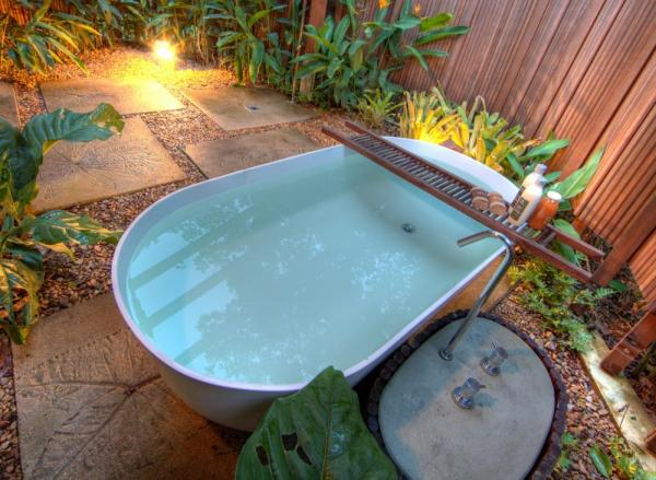 Take a soak in your private garden