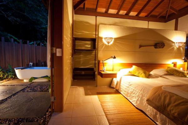 Relax in your suite at Cristalino Jungle Lodge