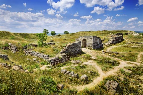 Ancient ruins in Ukraine
