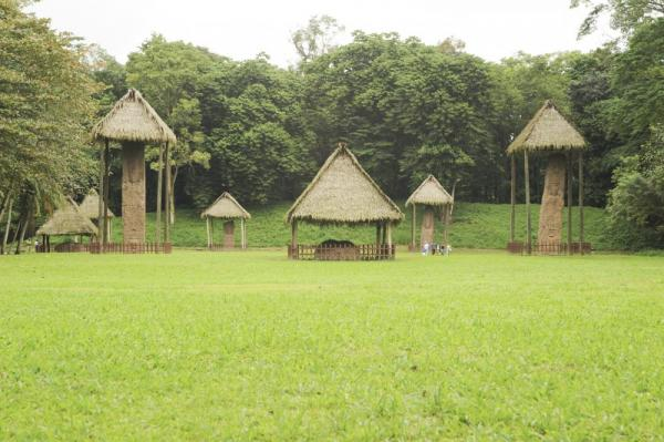 The large statues of Quirigua