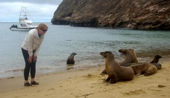 Met some friends on the beach