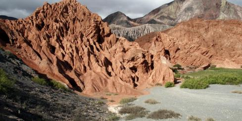 Mountains of the Salta province in northwest Argentina
