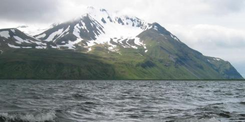 Adak Island of the Aleutian Islands