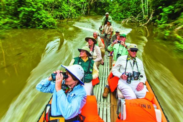 See the Amazon by riverboat excursions