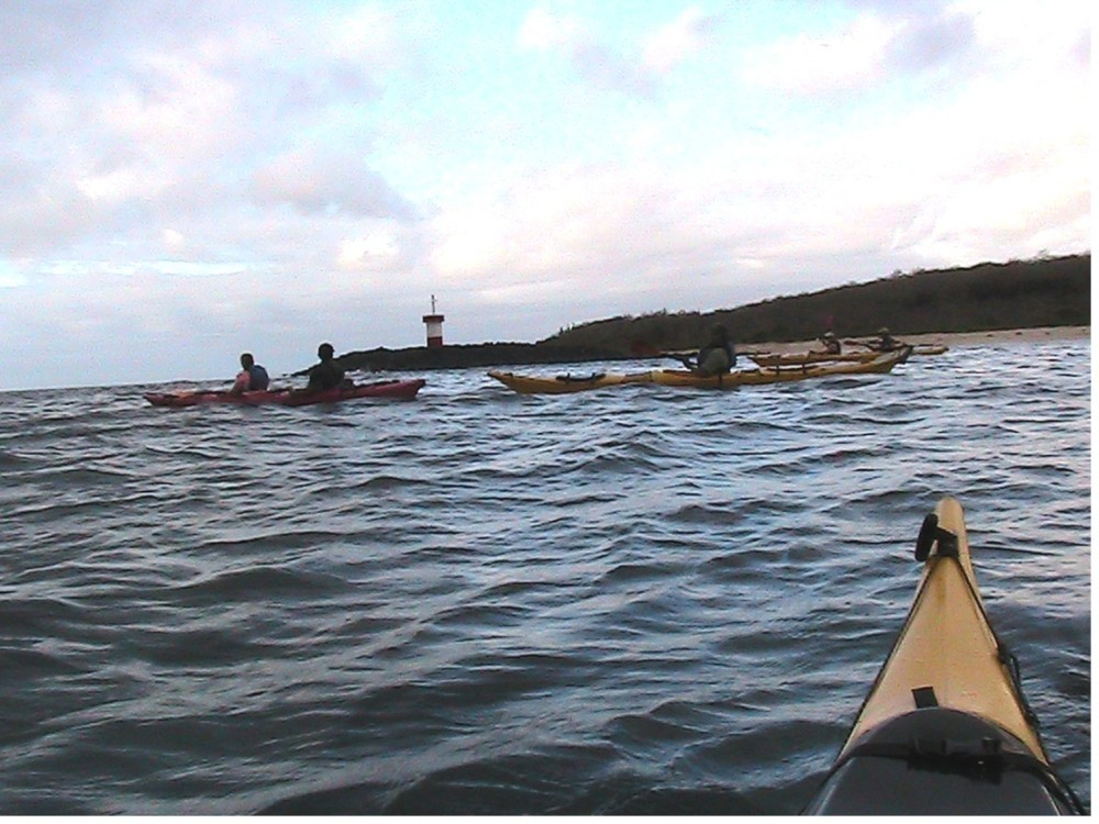 Sea kayaking in Galapagos