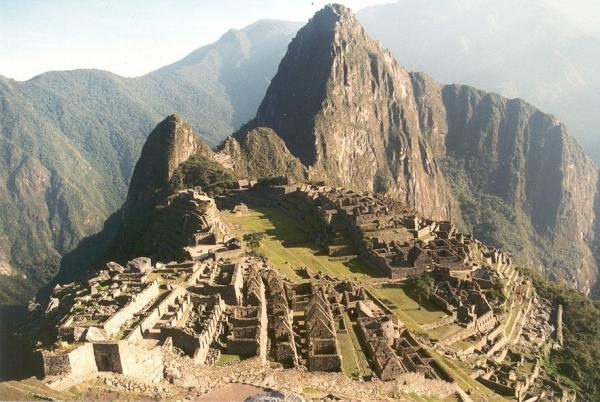 gorgeous view of Macchu Picchu