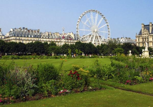 Visit the Tuileries Garden, found in Paris