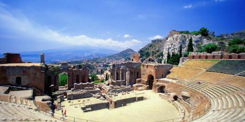 Greek theater in Sicily, Taormina