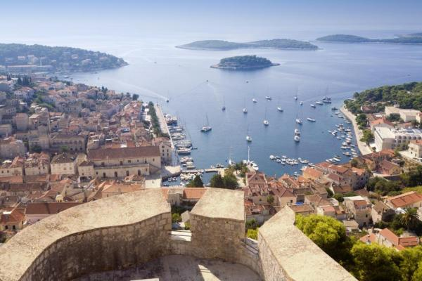 View of Hvar, Croatia