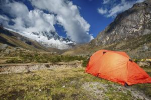 Camping along the Inca Trail