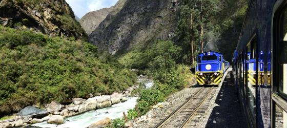 Machu Picchu train