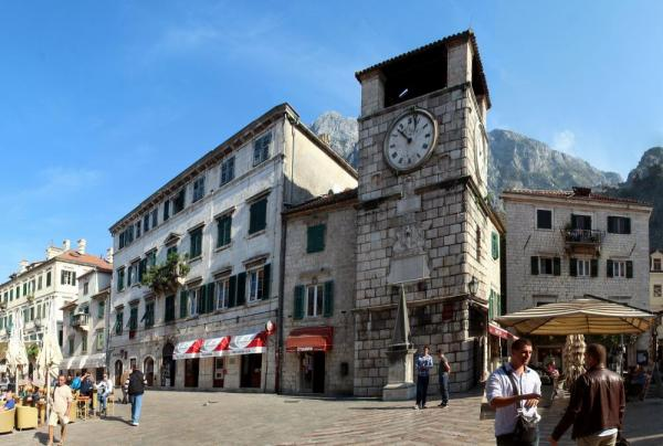 Kotor's clock tower