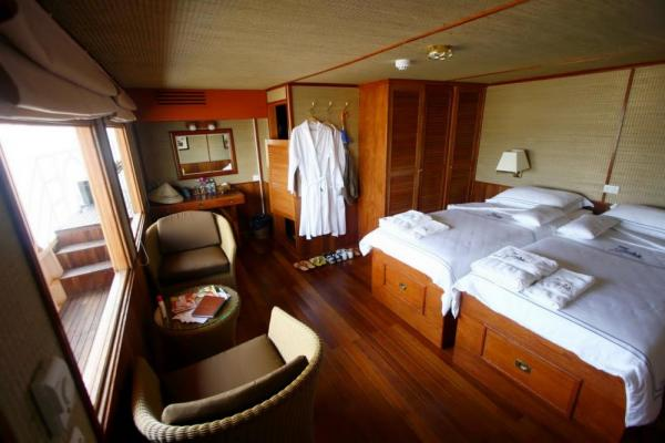 Cabin on the RV Indochine