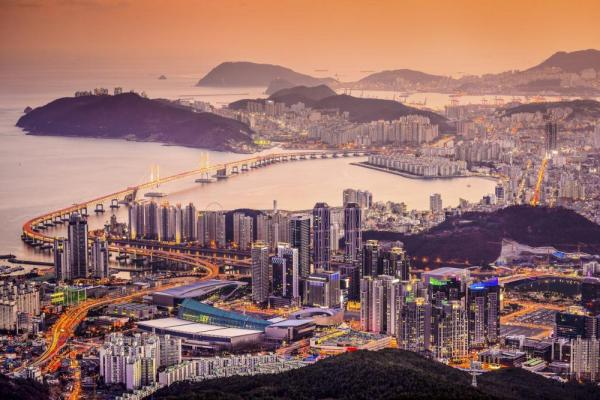 View of Busan, South Korea