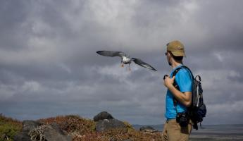 Forrest and the birds of the Galapagos Islands