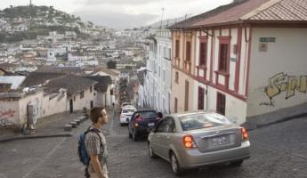 Navigating the streets of Quito