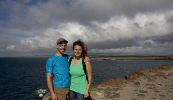 Celebrating my birthday in the Galapagos Islands