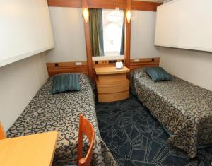Twin Porthole Cabin (under renovations)
